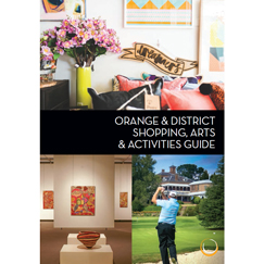 Orange Shopping Arts and Activities Guide Thumbnail 243x243