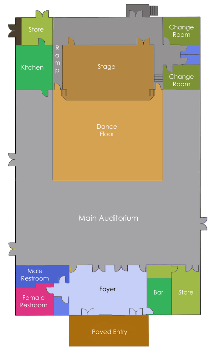 Community Centre Layout