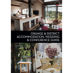 Orange Accommodation Wedding Conference Guide 243x243