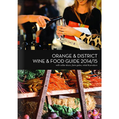 Orange Food and Wine Guide 2014-15 243x243